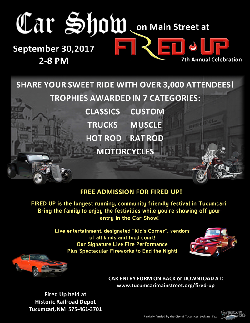 Fired Up Car Show