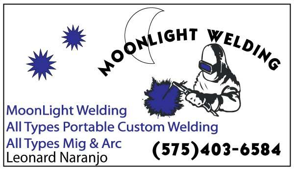 Business card design moonlight welding business cards colourmoves